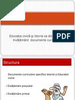 2. Educaţia civică şi Istoria ca discipline de învăţământ (1)
