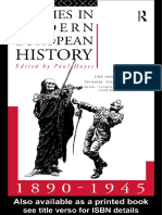 Hayes Paul, Themes in Modern European History 1890-1945