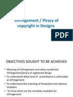 Designs - Infringment