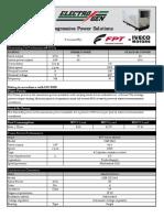 75 kVA Specification Sheet