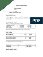 RENDIMIENTO DE PERFORACIÓN JUA 36