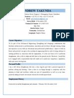 Curriculum Vitae for Takunda Andrew.docx