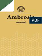"""""""El requisit"""" i """"L'assetjador"""", dos contes d'AMBROSIA, de Jordi Masó"""