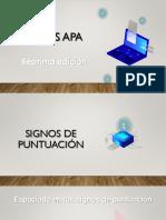 6..  NORMAS APA SEPTIMA EDICION -PUNTUACION
