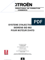 Citroen - Injection Hdi Siemens Sid 802 Moteur Dv4td