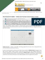 DELTA DELCEN HV SERIES - 1500vdc Grid Tied Solar Central Outdoor Inverter_2 Mppt