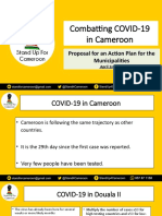 Fighting COVID19 in Cameroon