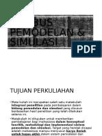 Pemodelan Simulasi - Silabus (2)