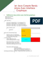 Java TP 2 Compte Rendu (v 1)