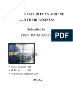 NEW ASSIGNMENT AVIATION SECUIRTY