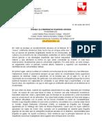 Ensayo historia de colombia1 - Valencia