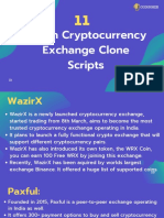 11 Cryptocurrency Exchange Clone Scripts.pdf