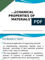 mechanical properties of material
