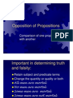 Opposition Proposition