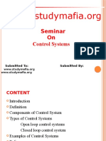 Control Systems PPT
