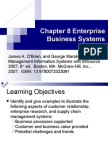 Enterprise Business Systems