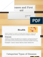 Diseases and First aid.pptx