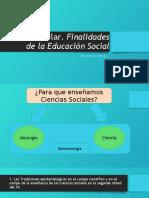BENEJAM, Pilar- Las finalidades de la Educacion Social.pptx