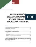 Programacion Science 4º LOMCE cole bilingue concertado