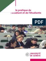 Guide pratique de l'étudiant et de l'étudiante