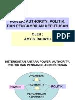 power ,politik, authority, dan pe