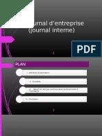 Le journal d'entreprise.pptx