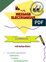 MESSAGE ELECTRONIQUE