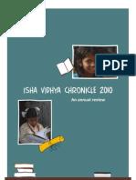 Isha Vidhya Chronicle 2010