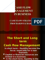 Cash flow mgmt