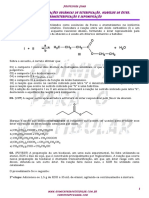 Esterificação,hidrólise de Ester, transesterificação e saponificação