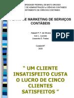 Slide Trabalho_marketing_- Plano de Marketing de serviços contábeis.ppt