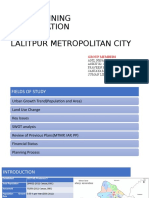 CITY PLANNING PRESENTATION ON LALITPUR METROPOLITAN CITY