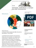 Salud Mental_ servicios, individuos y cuerpo social en la época del coronavirus