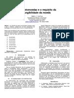 As criptomoedas e o requisito da fungibilidade da moeda  -A. Cruz (2019)