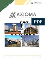 Axioma Ingenieria - Presentacion Civil Resumida