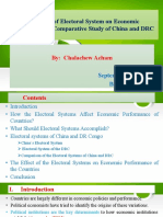 The Effect of Electoral System on Economic Performance, China and DRC.pdf