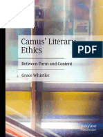 Grace Whistler - Camus' Literary Ethics_ Between Form And Content (2020, Palgrave Macmillan)
