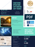 Chartering Brokerage and Ship Finance