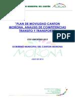 Plan de Movilidad  Cantón Morona  Versión final Macas.pdf