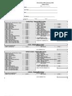December-January Order Form