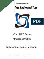 09-Estilos de Texto, Capitular e Word Art
