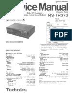 Technics-RSTR-373-Service-Manual