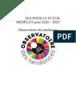 Repères pour le futur 2020 2025 Observatoire Des Tendances