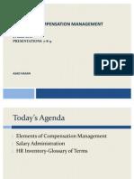 Compensation Elements SCM 10-11-12