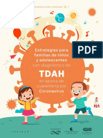 GUÍA PARA FAMILIAS. TDAH. CUARENTENA 2020