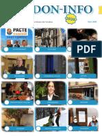 Le journal PDF de mars de l'association Verdon -Info