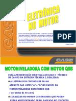 COMPONENTES DO MOTOR ELETRONICO QSB