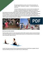 Movimiento y danza guatemalteca