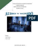 AUDIO Y SONIDO IItrimestre