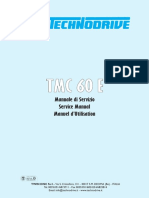 Workshop manual TMC 60E